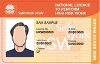 HRW LF - (Licence to operate a Forklift truck)
